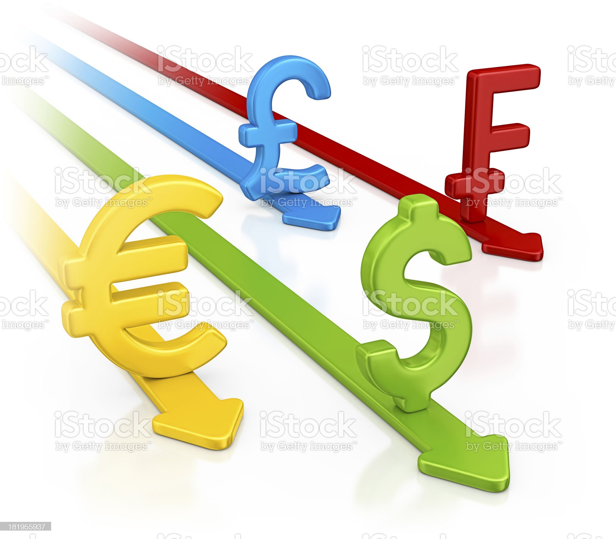 currency race royalty-free stock photo