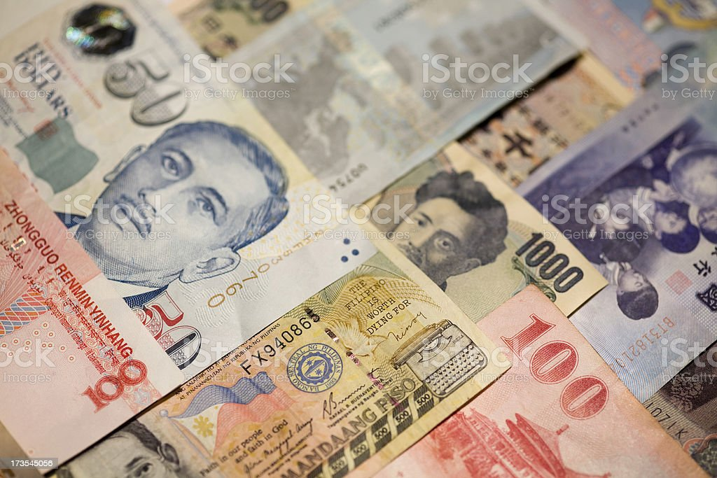 Currency Series royalty-free stock photo