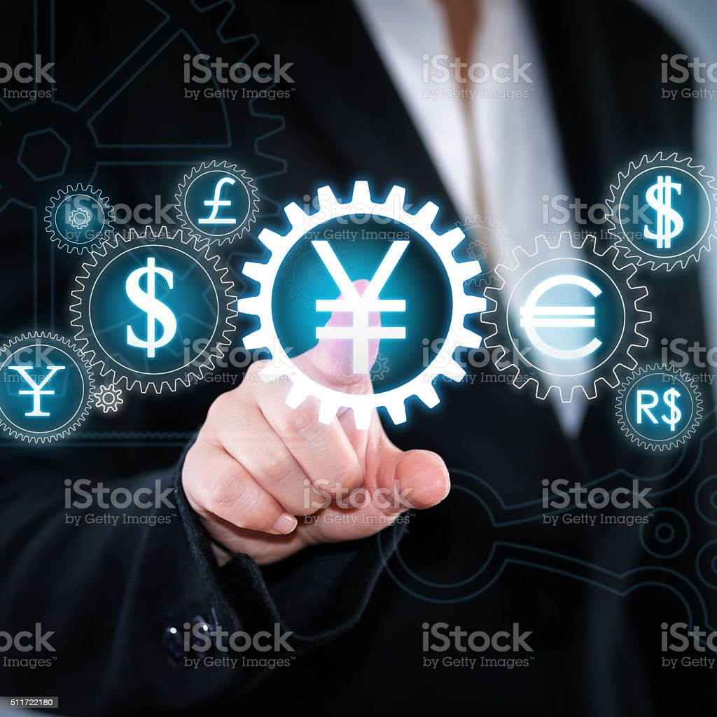 Currency Symbol stock photo