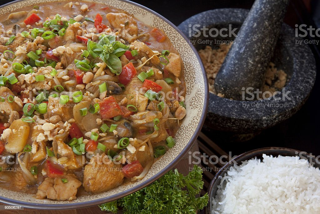 Curry bowl 2 royalty-free stock photo