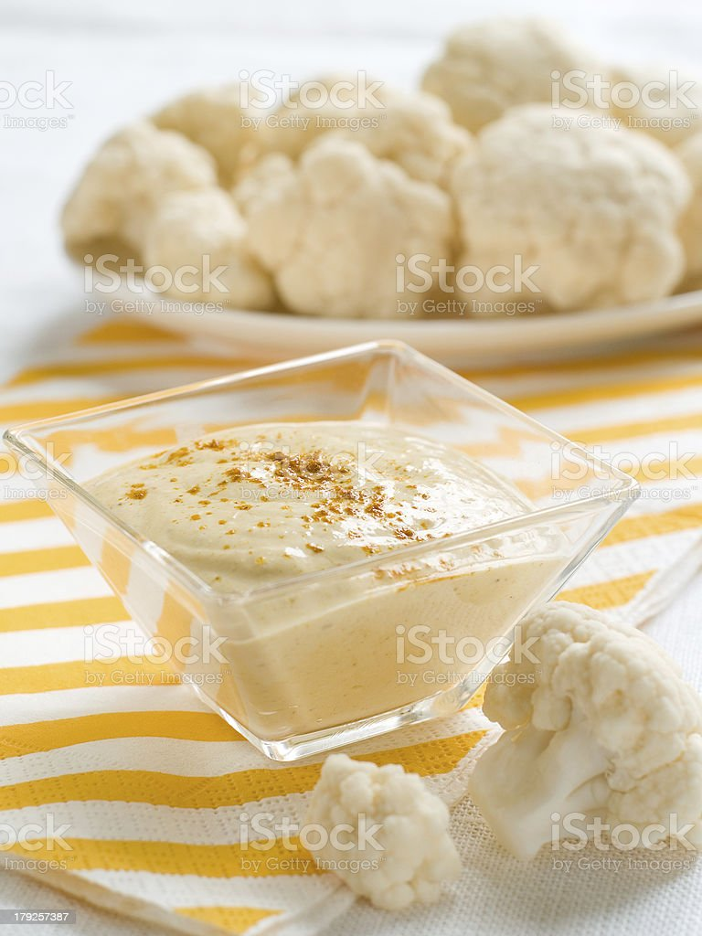 curry dip royalty-free stock photo