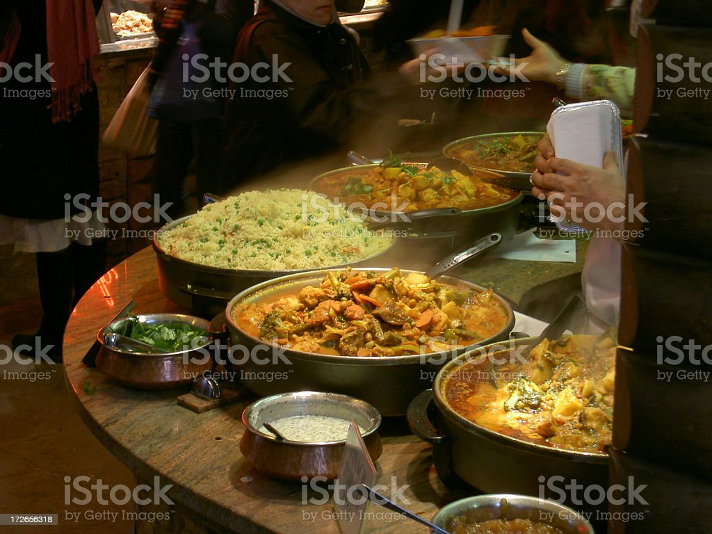 Curry House stock photo