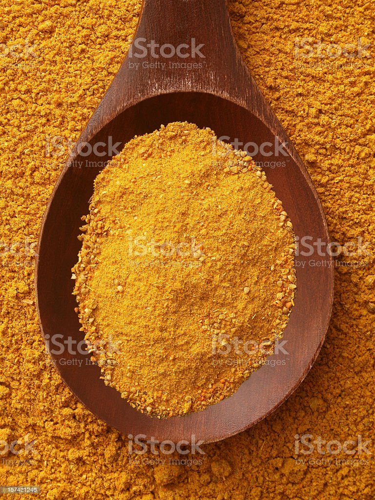 Curry royalty-free stock photo