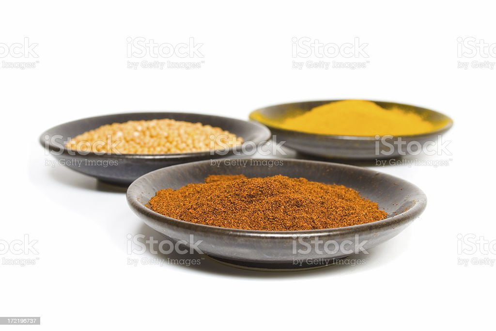 Curry Spices - Chili Powder royalty-free stock photo