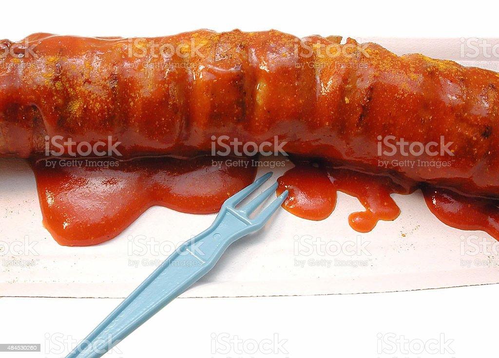 Currywurst / Bratwurst stock photo