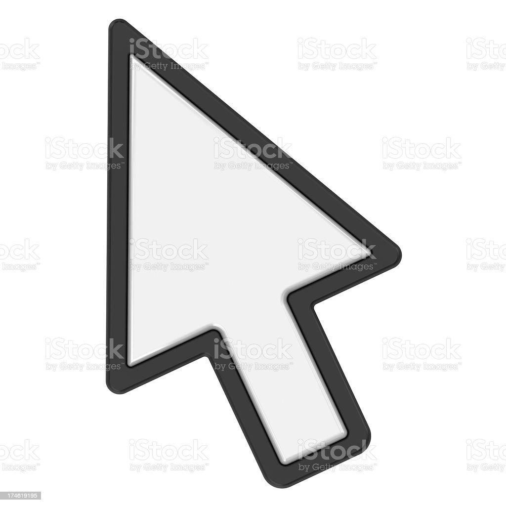 cursor arrow stock photo