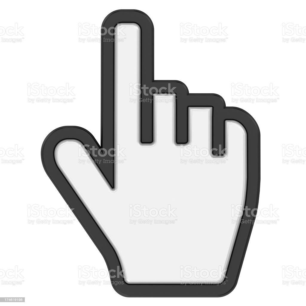 cursor hand stock photo