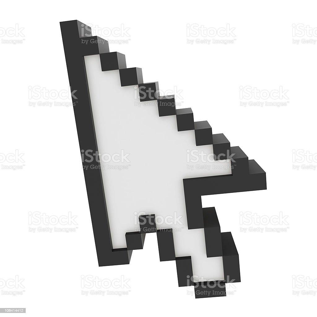 3D Cursor stock photo