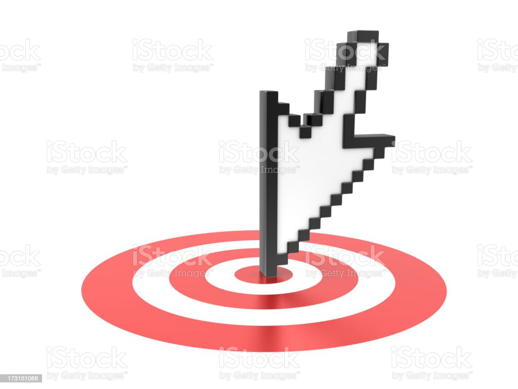 cursor stock photo