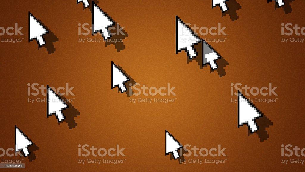 Cursors stock photo