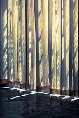 Curtain and shadows