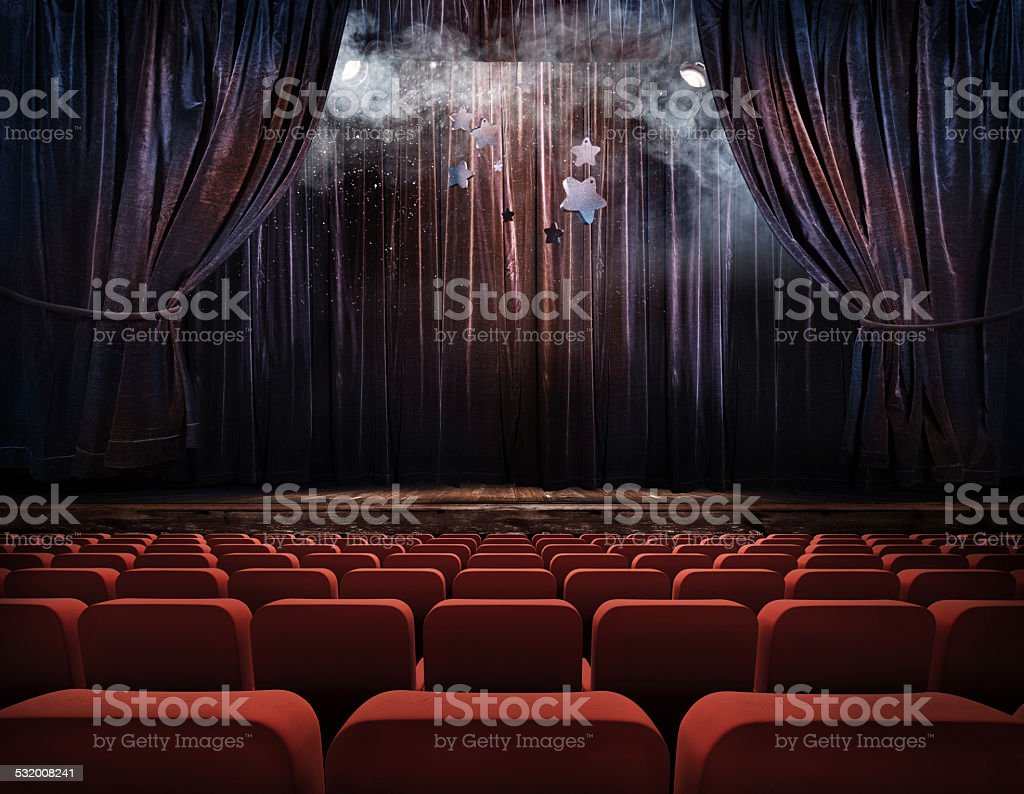 Curtain background. stock photo