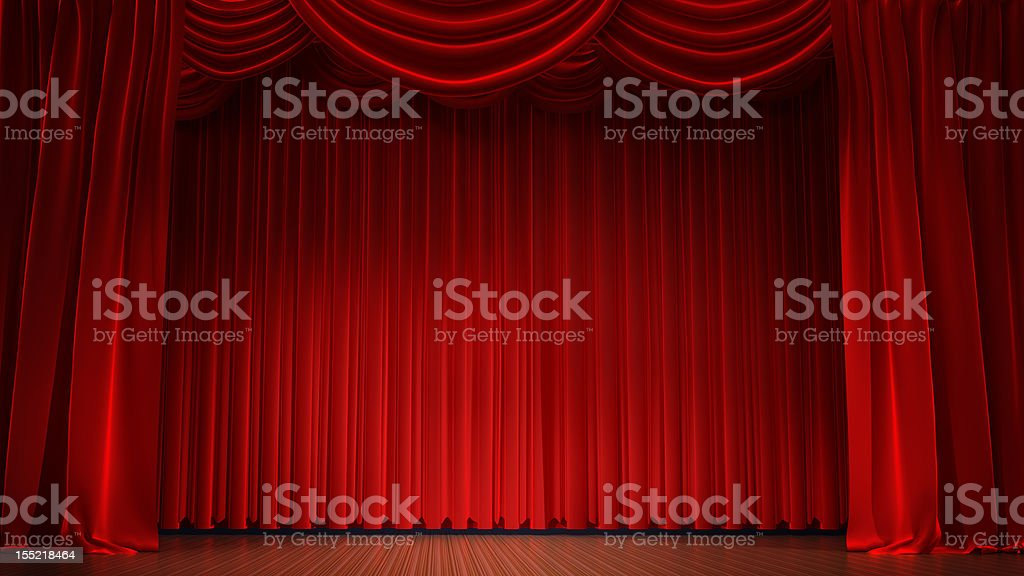 curtains royalty-free stock photo
