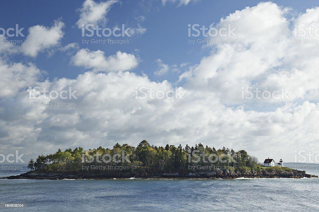 Curtis Island royalty-free stock photo