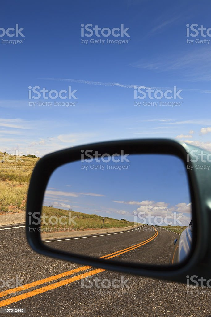 Curve behind stock photo