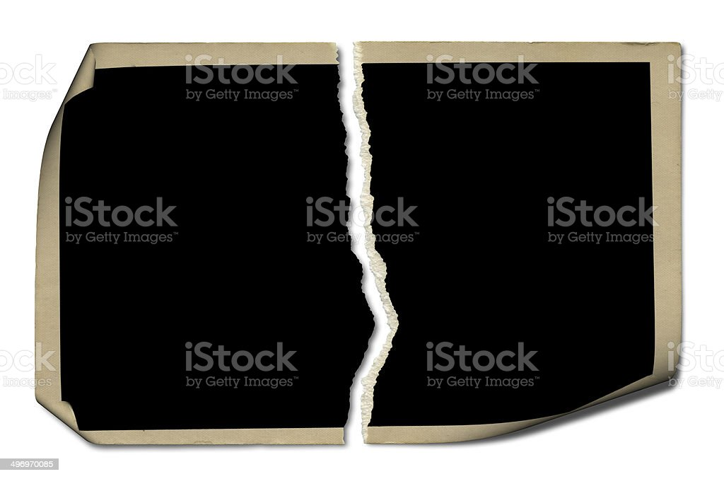 Curve Blank Photo royalty-free stock photo