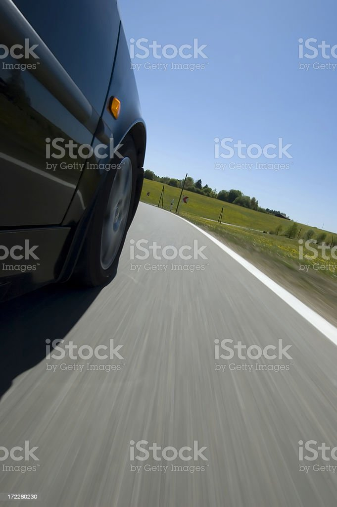 Curve in Front royalty-free stock photo