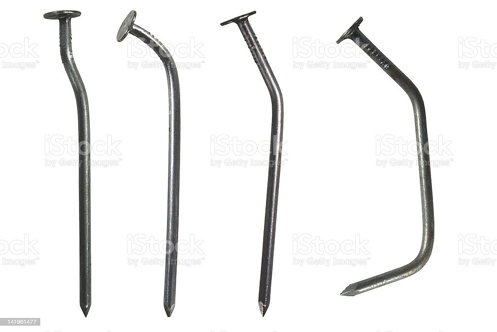 Curve nails royalty-free stock photo
