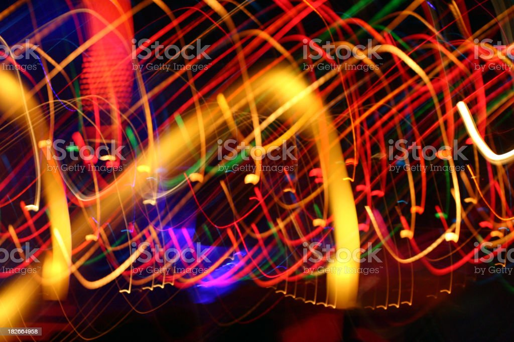 curve of light :  dance royalty-free stock photo