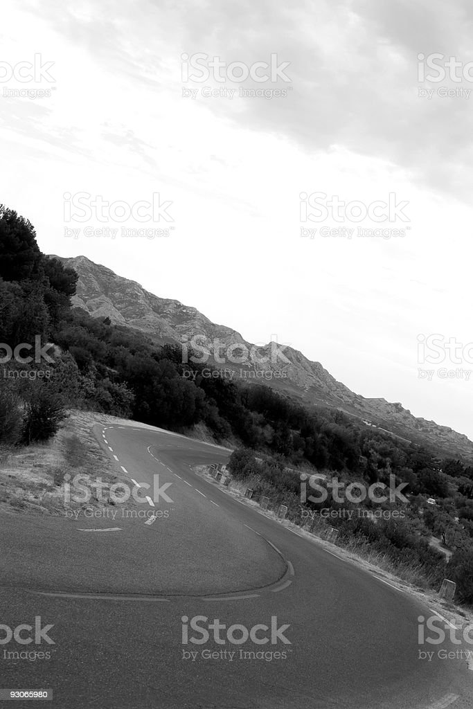 S Curve royalty-free stock photo