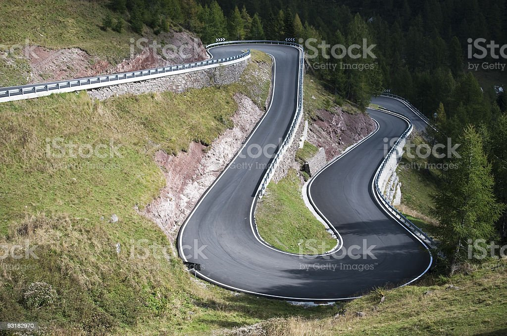 Curve..! royalty-free stock photo