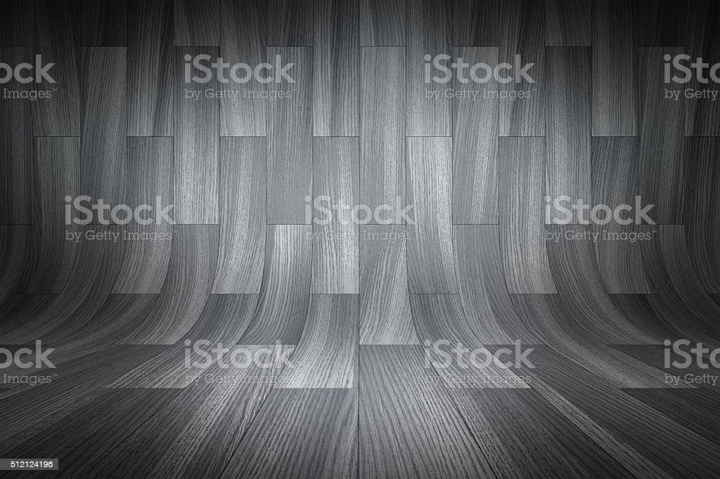 Curved black background stock photo