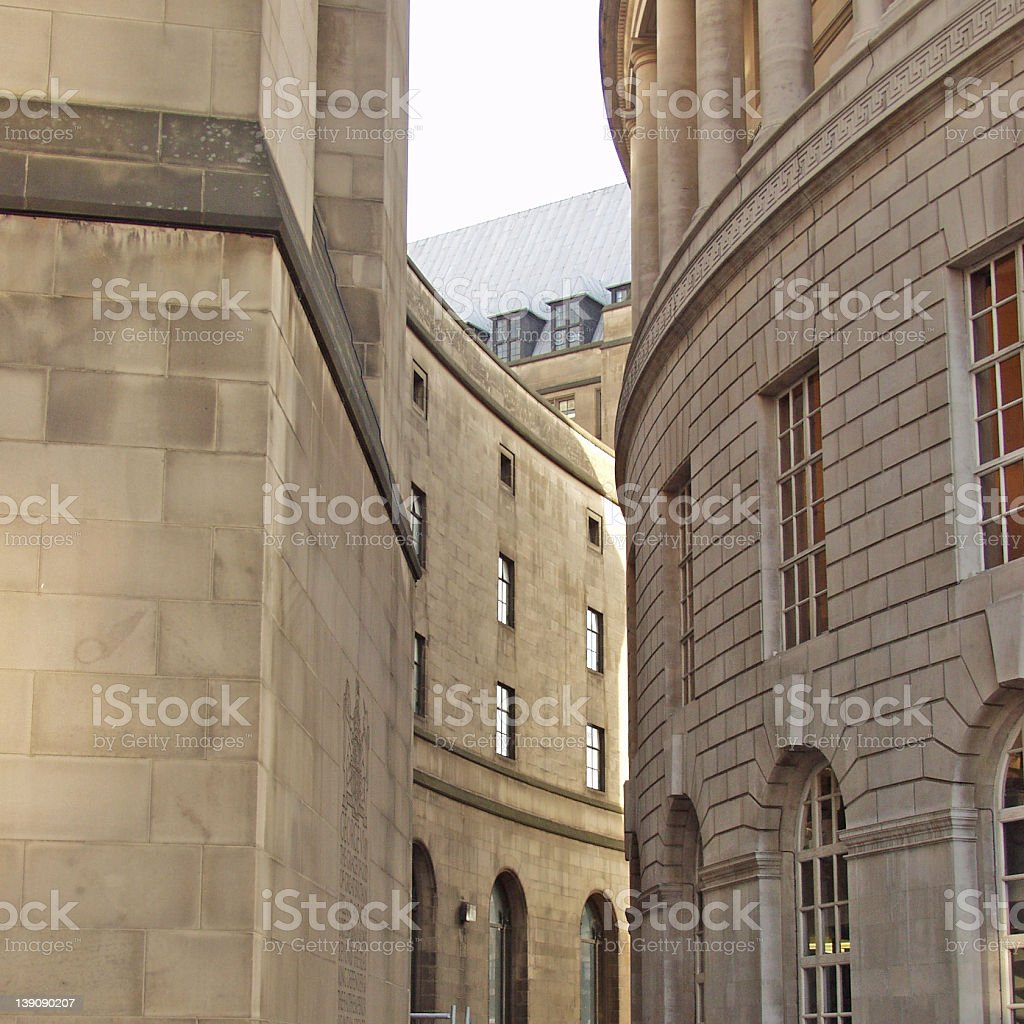 curved building stock photo