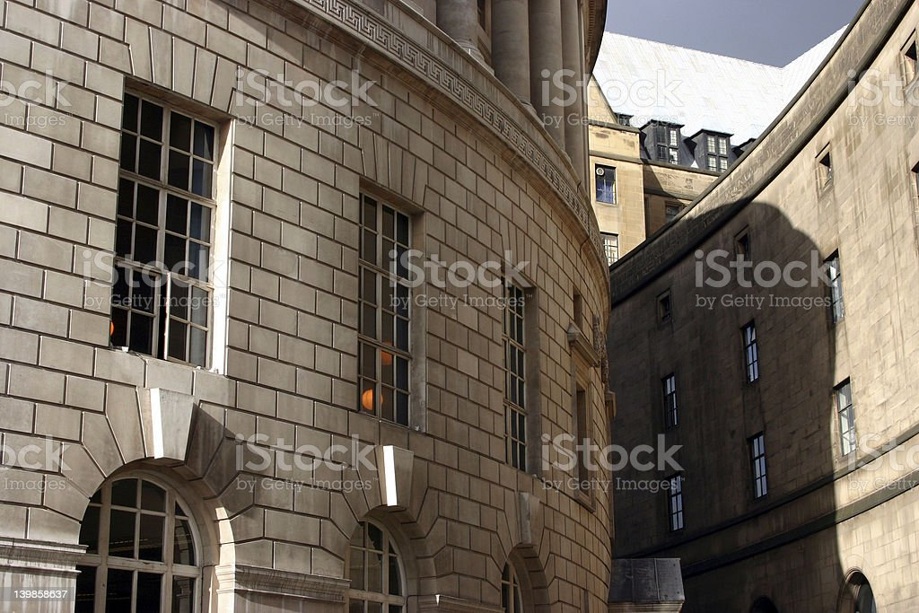 Curved Buildings stock photo