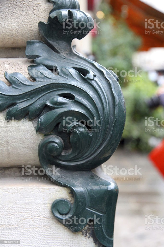 Curved Corner royalty-free stock photo