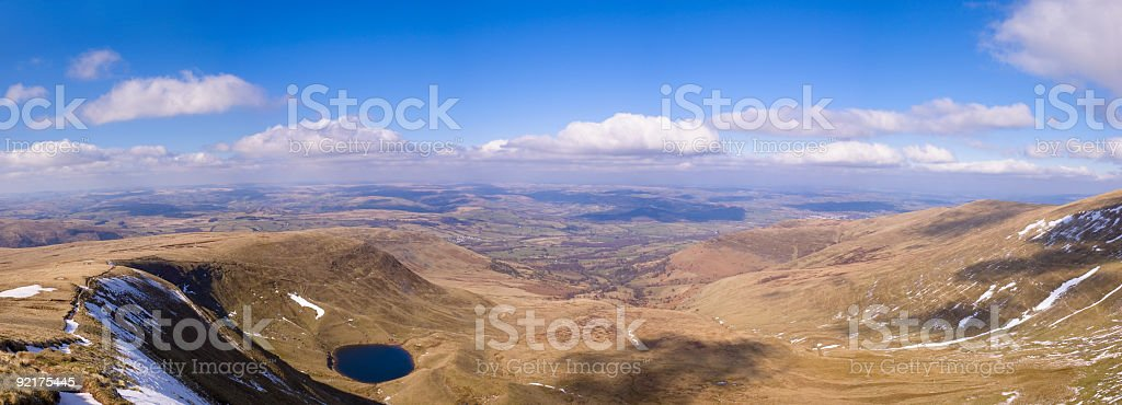 Curved Earth royalty-free stock photo
