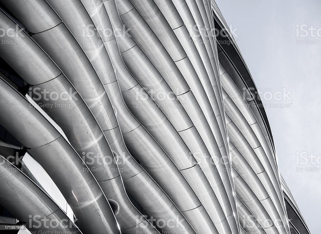Curved Facade royalty-free stock photo
