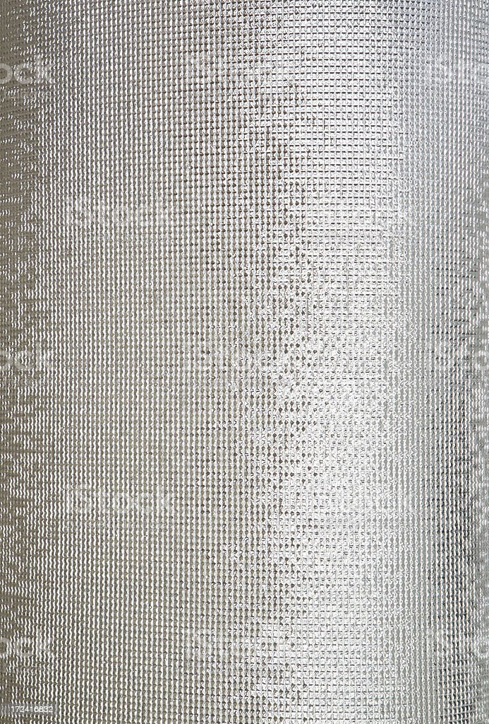 Curved silver grid background royalty-free stock photo