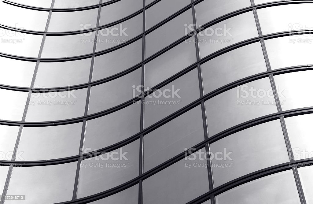 Curves architecture royalty-free stock photo
