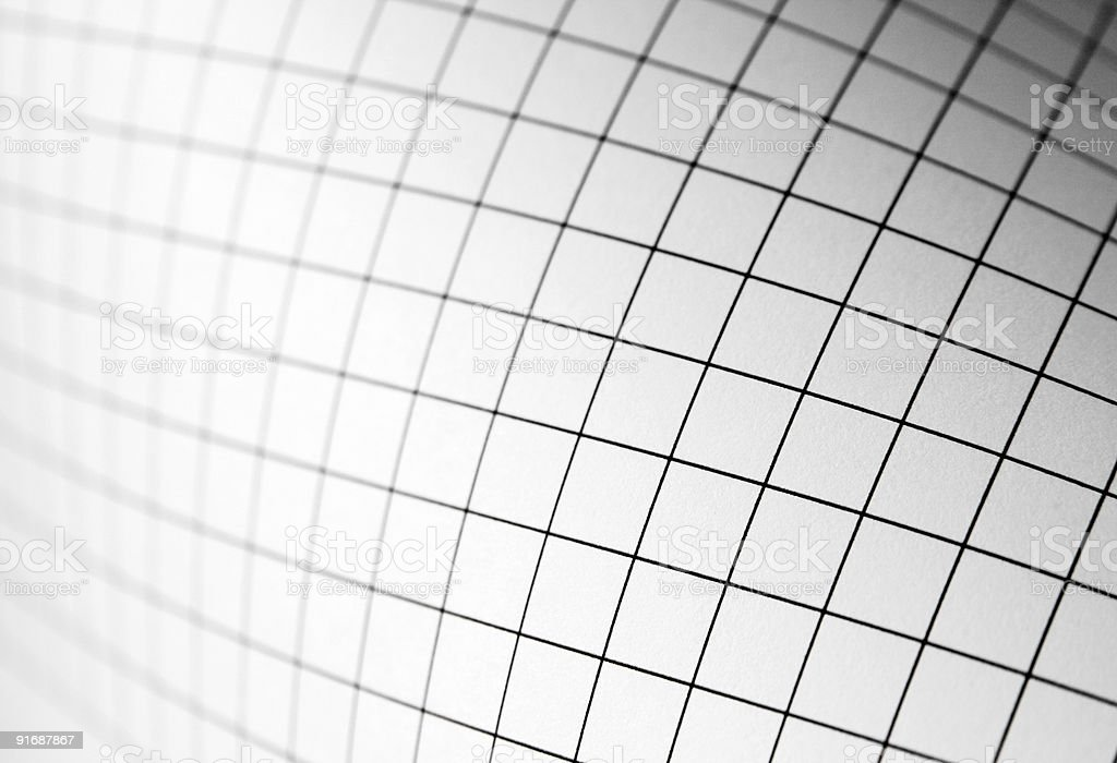 curving graph stock photo