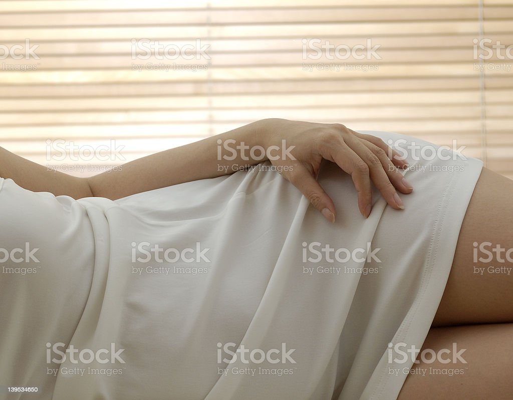 curvy woman royalty-free stock photo