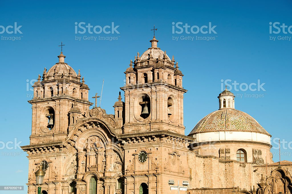 Cusco Cathedral. stock photo