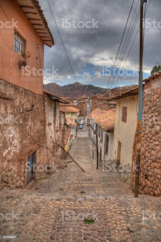 Cusco royalty-free stock photo