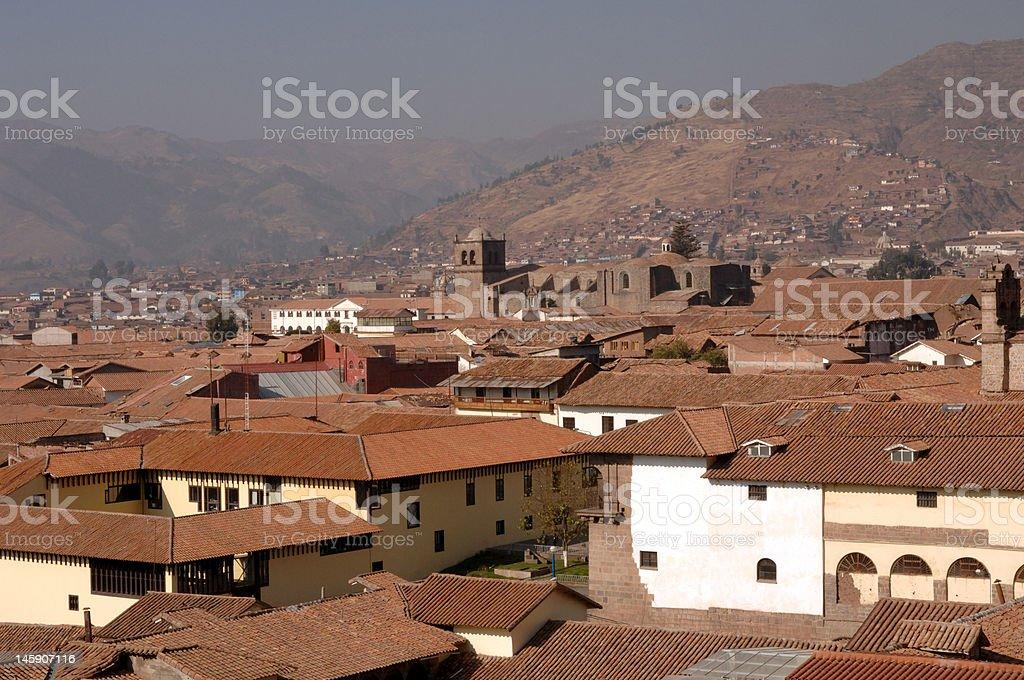Cusco Sunlight royalty-free stock photo