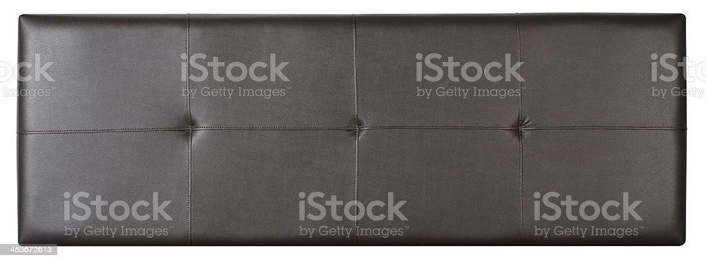 Cushion. Clipping path stock photo
