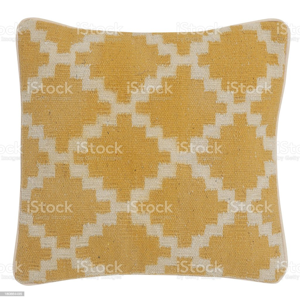 Cushion in Old Fashion Style Isolated royalty-free stock photo