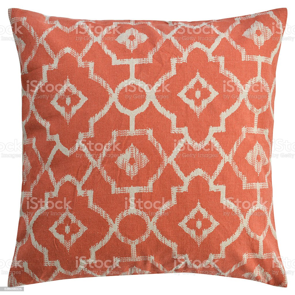 Cushion in Old Fashion Style Isolated stock photo