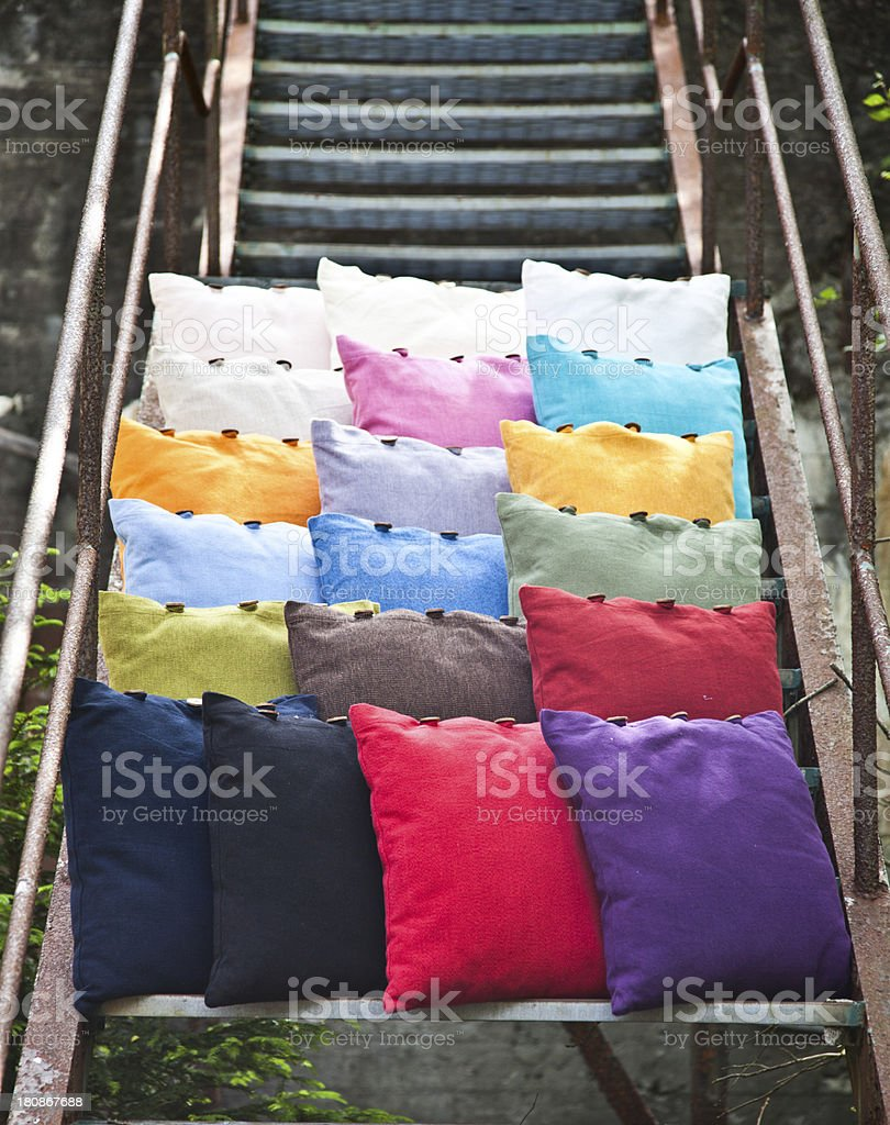 Cushion royalty-free stock photo