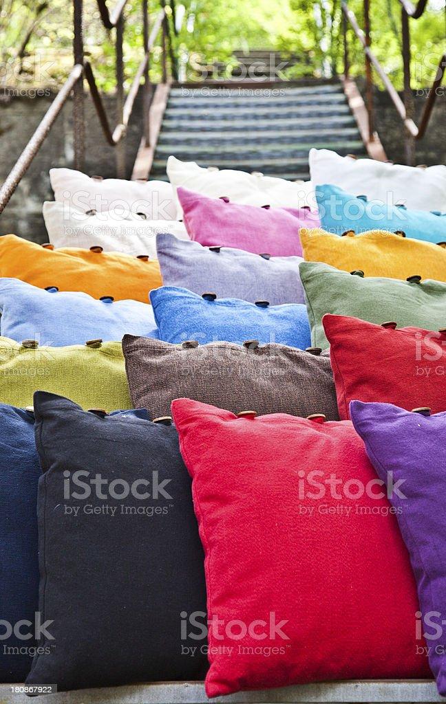 Cushion royalty-free stock photo