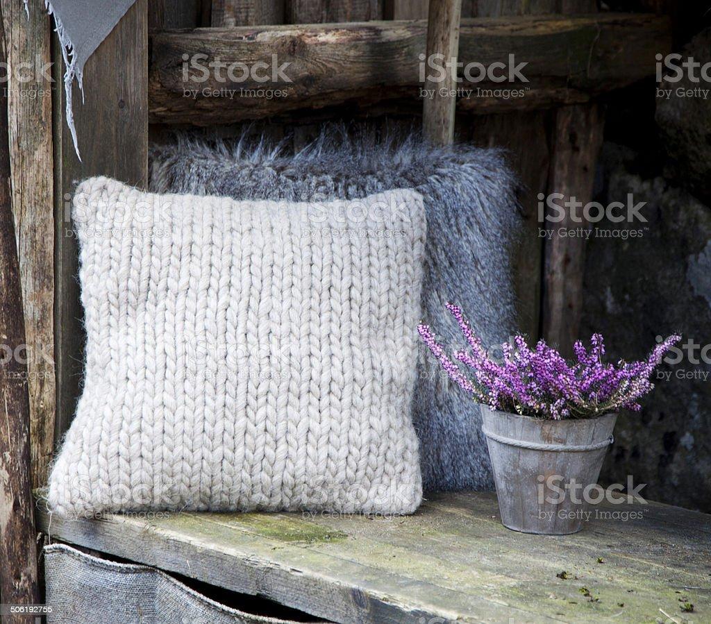 Cushion stock photo