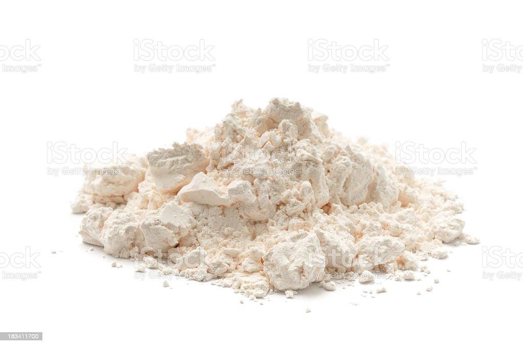 Custard Powder Heap royalty-free stock photo