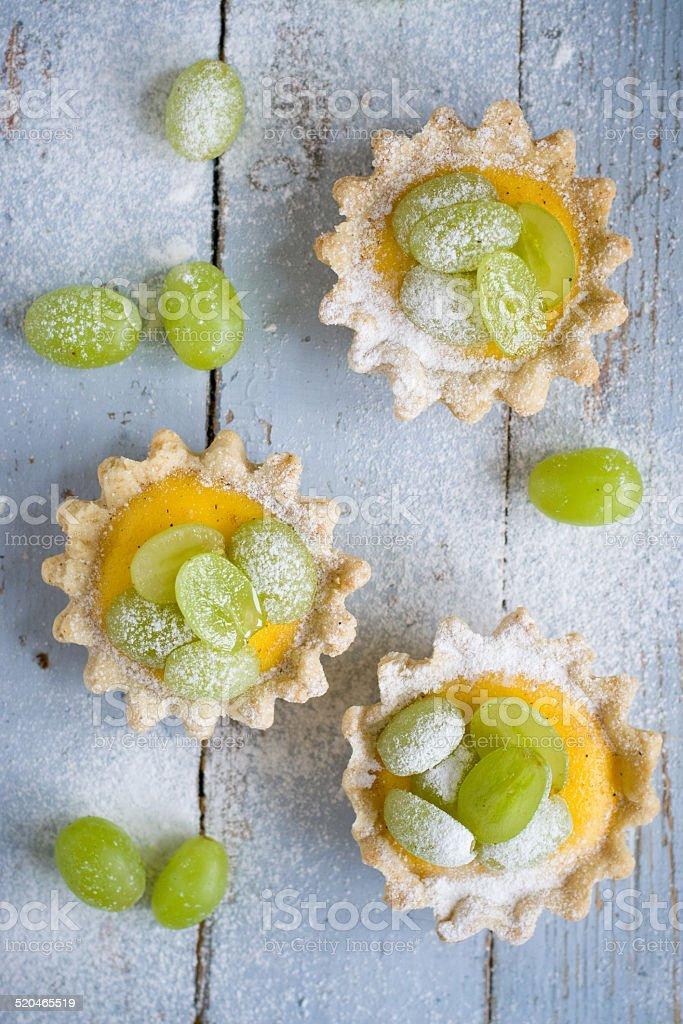 Custard tarts royalty-free stock photo