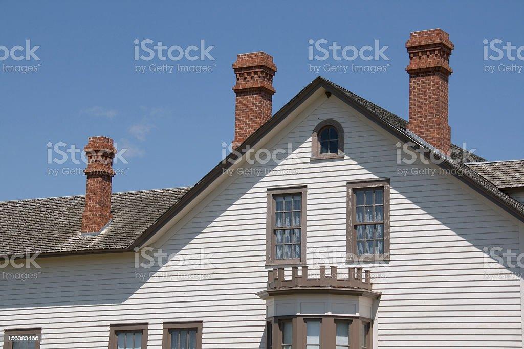 Custer House royalty-free stock photo