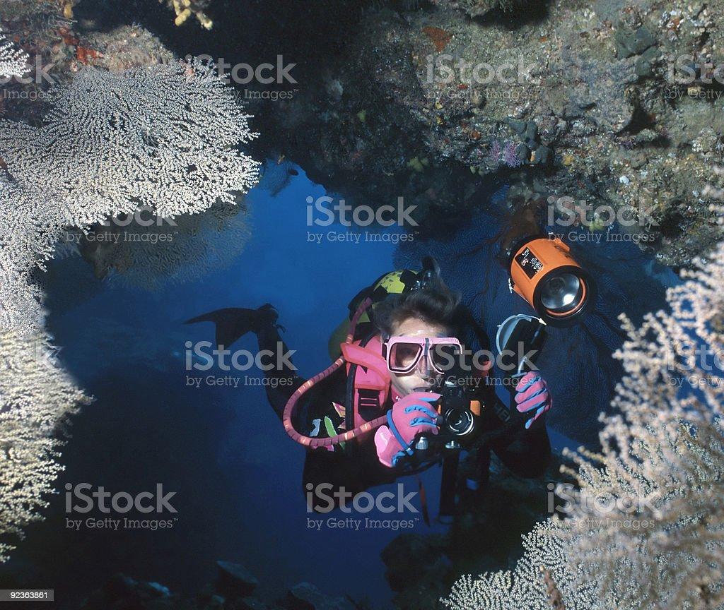 Custom Grotte de Solomons photo libre de droits
