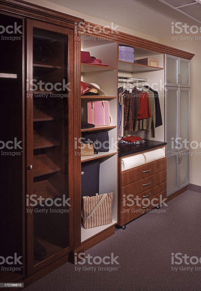 Custom Closet 2 royalty-free stock photo