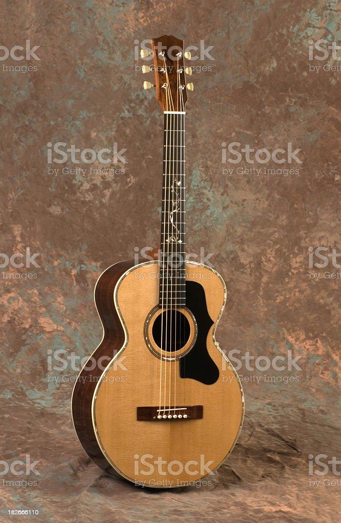 Custom Guitar Front stock photo